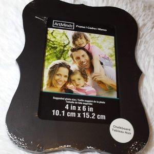 "Art Minds Bracket Chalkboard Picture Frame-4""X 6"""
